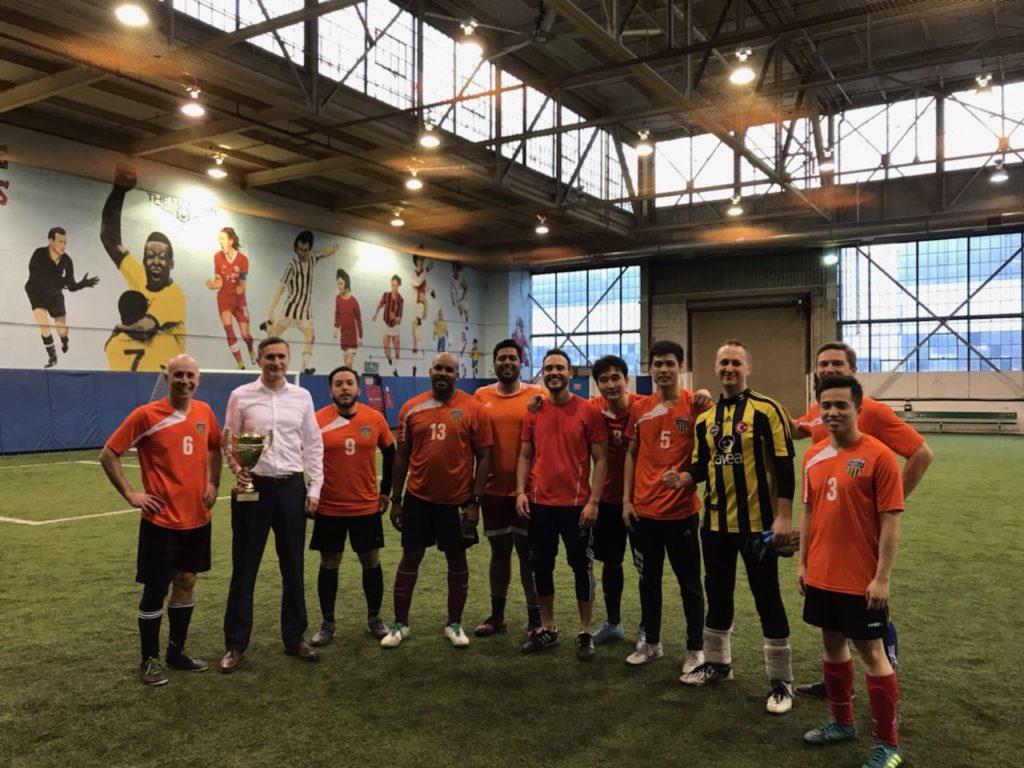 Orange Crush Are Champions Teachers Indoor Soccer League